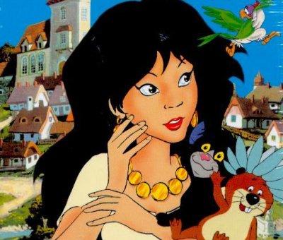Dessins animés : Princesse Saffi