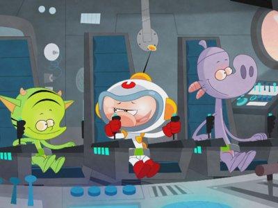 Dessins animés : P'tit Cosmonaute