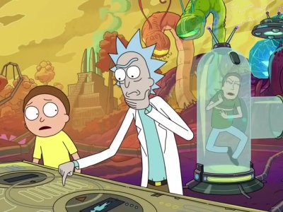 Dessins animés : Rick et Morty