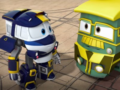 Dessins animés : Robot trains
