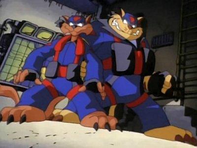 Dessins animés : SWAT Kats
