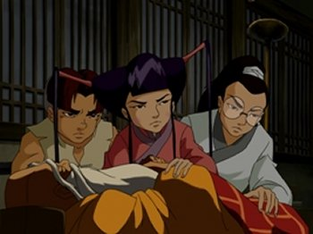 Dessins animés : Shaolin Wuzang