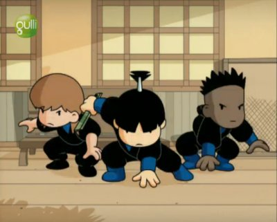 Dessins animés : Shuriken School