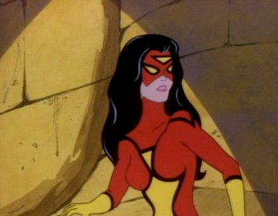 Dessins Animés : Spider Woman
