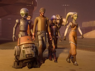 Dessins animés : Star Wars Rebels