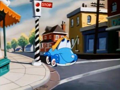 Dessins animés : Susie le petit coupé bleu