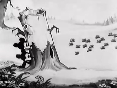 Dessins animés : The Bears and the Bees (Silly Symphonies)