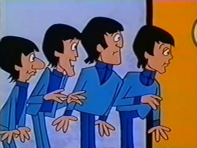 Dessins animés : The Beatles