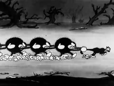 Dessins animés : The Cat's Nightmare (Silly Symphonies)