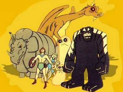 Dessins animés : The Herculoids