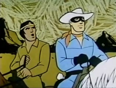 Dessins animés : The Lone Ranger