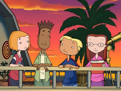Dessins animés : The Weekenders