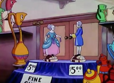 Dessins animés : The China Shop (Silly Symphonies)