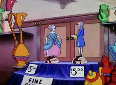 Dessins Animés : The China Shop (Silly Symphonies)