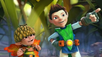 Dessins animés : Tree Fu Tom