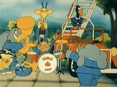 Dessins animés : Trombi és a Tüzmanó (Trompette et pompier)