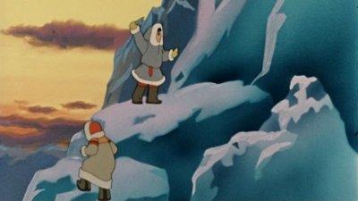 Dessins animés : Une flamme scintille dans l'igloo