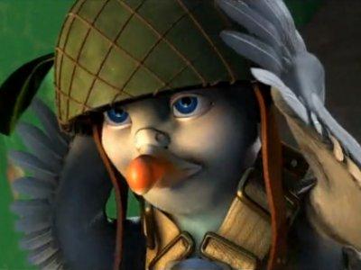 Dessins animés : Vaillant, Pigeon de Combat !