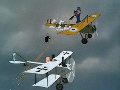 Dessins animés : Victoire dans les airs (Walt Disney)