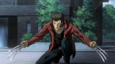 Dessins animés : Wolverine (Marvel Anime)