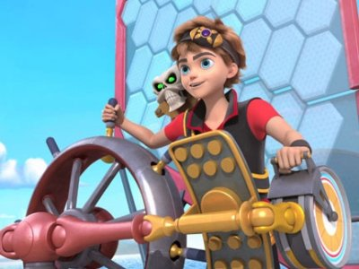 Dessins animés : Zak Storm, super Pirate