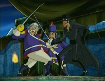 Dessins animés : Zorro l'indomptable