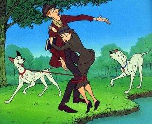 Dessins animés : Les 101 Dalmatiens (Walt Disney)