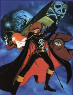 Dessins animés : Albator 84 (Waga seishun no Arcadia mugen kido SSX)
