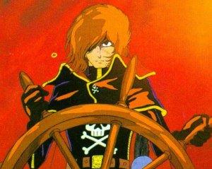 Dessins animés : Albator 78 (Uchû kaizoku captain Harlock)