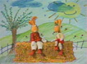 Dessins animés : Croque-Vacances (Isidore et Clémentine)