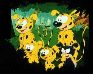 Dessins animés : Marsupilami (Houba ! Houba ! Hop !)