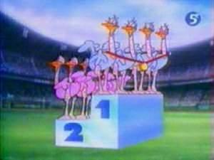 Dessins animés : Les Zoo Olympics (Zoo Cup)
