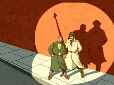 Dessins animés : Blake et Mortimer