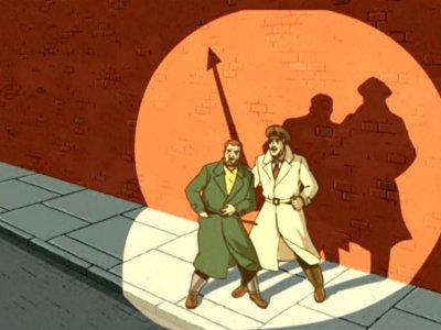 Dessins Animés : Blake et Mortimer