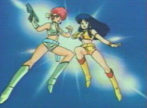 Dessins animés : Dan et Danny (Dirty Pair)