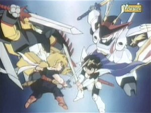 Dessins animés : Adrien, Sauveur du Monde (Mashin heiyûden Wataru)