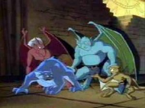 Dessins animés : Gargoyles