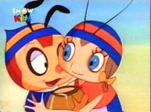 Dessins animés : Hutchy le petit prince orphelin (Micky l'abeille)