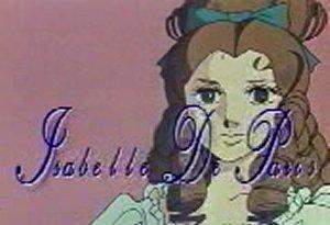Dessins animés : Isabelle de Paris