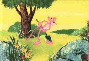 Dessins animés : La Panthère Rose (The Pink Panther)