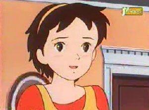 Dessins animés : Petite bonne femme