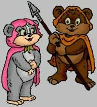 Dessins animés : Les petits Ewoks