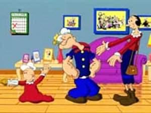 Dessins animés : Popeye le marin