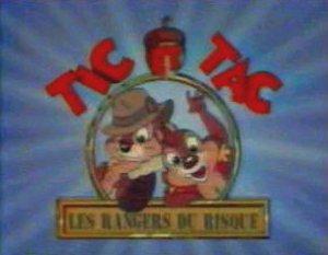 Dessins Animés : Tic & Tac, Rangers du risque